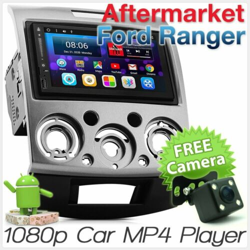 Android Car Radio For Ford Ranger Mazda BT-50 Stereo Head Unit MP3 Fascia Kit AT
