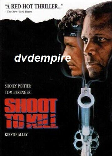 Shoot To Kill DVD Sidney Poitier New and Sealed Australian Release
