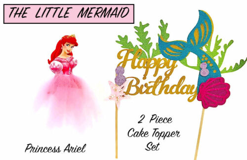 The Little Mermaid Ariel ribbon for cake decorating or scrapbooking 1m long