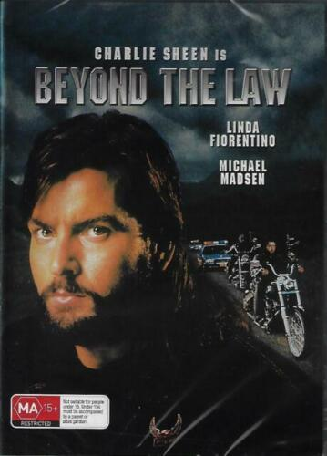 Beyond The Law DVD Charlie Sheen New and Sealed Australian Release