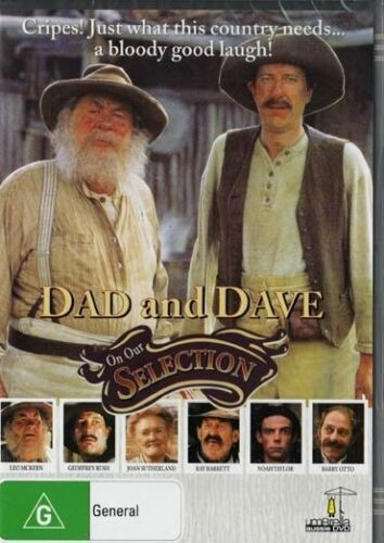 Dad And Dave DVD Geoffrey Rush New and Sealed Australian Release