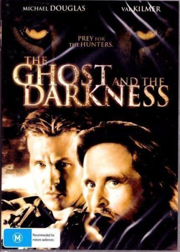 The Ghost And The Darkness DVD New and Sealed Australia All Regions