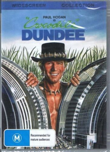 Crocodile Dundee 1 DVD New and Sealed Australia All Regions