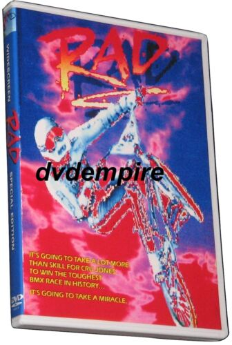 Rad DVD 1986 New and Sealed Australian Release