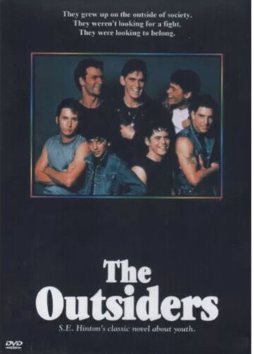 The Outsiders DVD New and Sealed for Australian DVD Players