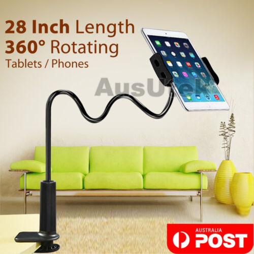 """Universal Lazy Bed Long Arm Stand Holder For iPad Samsung Android Tablet 4-10.5"""""""