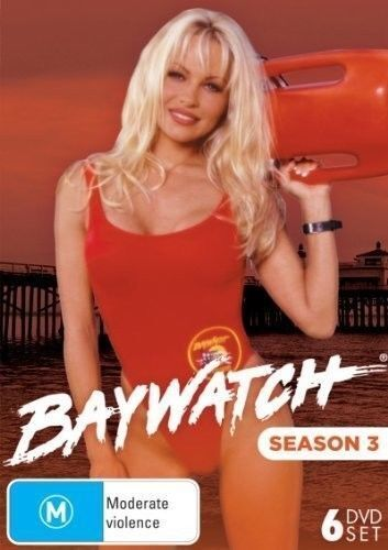 Baywatch Season 3 DVD 6-Disc Set New and Sealed Australia All Regions
