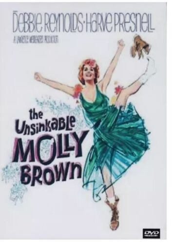 The Unsinkable Molly Brown DVD New And Sealed Australian Release