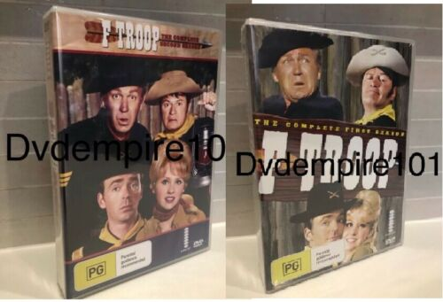 F Troop DVD Complete Series Seasons 1&2 Box Set New & Sealed Australia