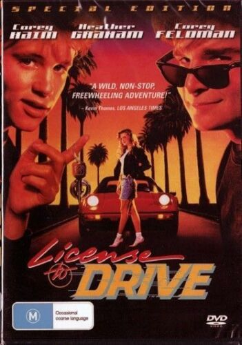 License To Drive DVD Brand New and Sealed Australia All Regions