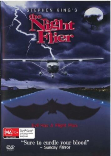 The Night Flier DVD Stephen King Brand New and Sealed Australia All Regions