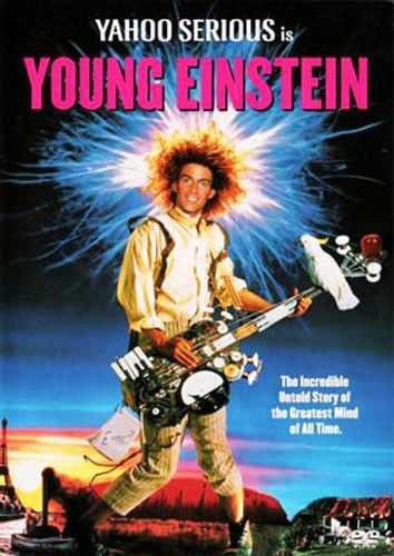 Young Einstein DVD New and Sealed Australian Release