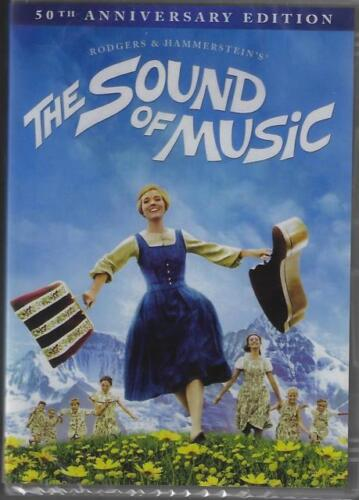 The Sound Of Music DVD 50th Anniversary Edition New Sealed Australia All Regions