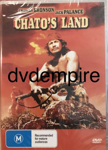 Chato's Chatos Land DVD Charles Bronson New and Sealed Australia All Regions
