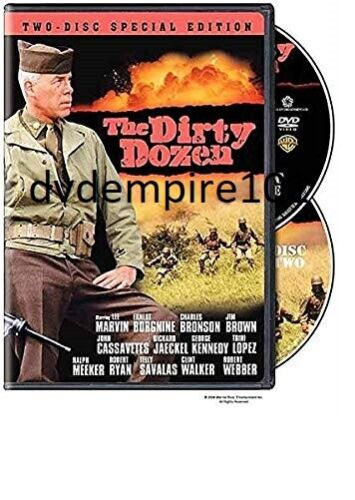 The Dirty Dozen DVD Charles Bronson 2disc special Edition Australia All Regions
