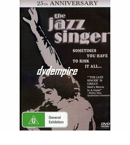 The Jazz Singer DVD Neil Diamond 25th Anniversary New Sealed Australia