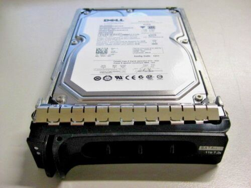 "Dell 1TB 7.2K SATA 3.5"" HDD with Caddy Model: ST31000340NS P/N:9CA158-053 0G377T"