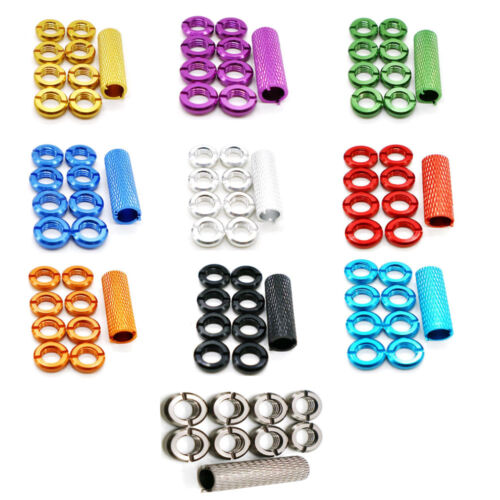 Alloy Transmitter Switch Nut w/ Wrench 8PCS Fit for Rc Spektrum Radio Controller