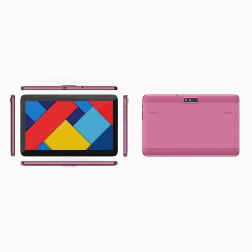 Laser 10 Inch 16G Quad Core Android 10 Tablet/HD Screen/Micro USB /SD Card/ Pink