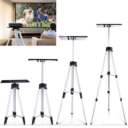 Aluminum Projector Laptop DV Video Camcorder Tripod Stand Holder With Carry Bag