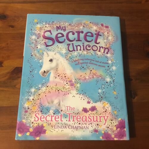 MY SECRET UNICORN ~ THE SECRET TREASURY - Linda Chapman - 4 books in 1 HC/DJ vgc