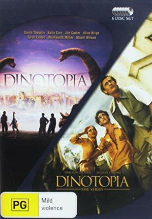 Dinotopia DVD Complete whole series, 6-Disc Set New Sealed Australian Release