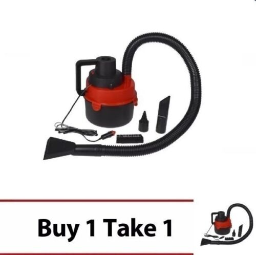 DC12V Monlove Wet and Dry Portable Car Vacuum Cleaner (Red) Set of 2 <br/> Paypal Accepted✔Same Business Day*Dispatch✔Powerseller✔