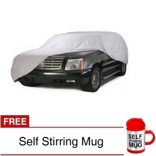 Waterproof Lightweight Nylon Car Cover for SUVs with Self Stirring Mug (Red) <br/> Same Business Day* Dispatch✔ Powerseller✔
