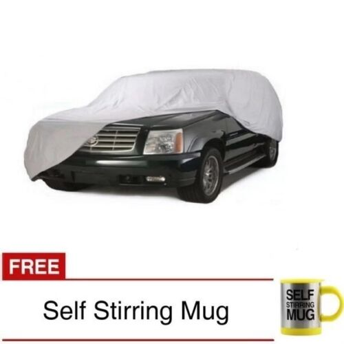 Waterproof Lightweight Nylon Car Cover for SUVs with Self Stirring Mug (Yellow) <br/> Same Business Day* Dispatch✔ Powerseller✔
