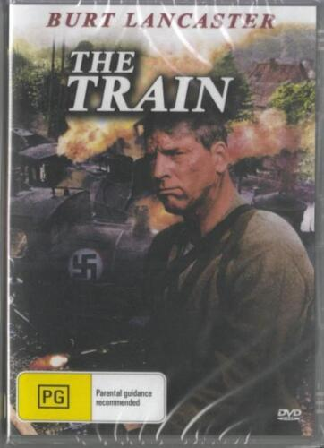 The Train DVD Burt Lancaster New Sealed Australian Release