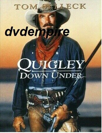 Quigley Down Under DVD Tom Selleck New Sealed Australian Release