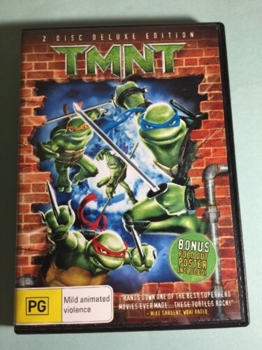 TMNT 2 disc Deluxe Edition DVD -Like New
