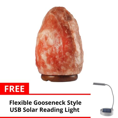 Keimav Natural Shape Himalayan Salt Lamp Light Dimmer w Solar Table Lamp <br/> Paypal Accepted✔Same Business Day*Dispatch✔Powerseller✔