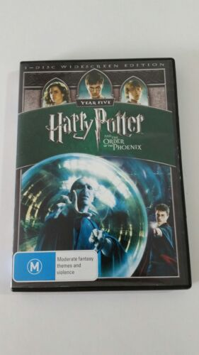 HARRY POTTER And The Order Of The PHOENIX DVD PAL AUS SELLER