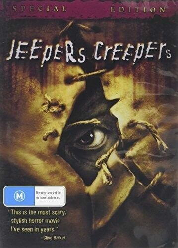Jeepers Creepers 1 DVD New Sealed Australian Release