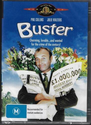 Buster DVD Phil Collins New Sealed Australia