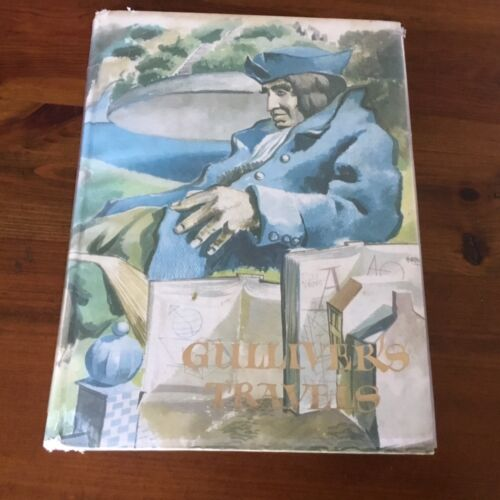 VINTAGE 1976 EDITION - GULLIVER'S TRAVELS BY J. SWIFT ILLUST. ALDREN WATSON HC