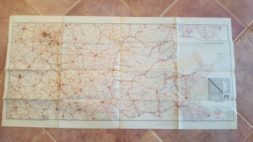 WWII Era - US ENGINEERS SPECIAL ROAD MAP OF ENGLAND & WALES (SHEET 6)