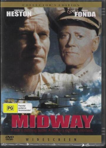 The Battle Of Midway DVD Coll Edi Henry Fonda New Sealed Australia All Regions