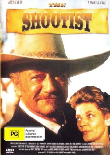The Shootist DVD John Wayne New Sealed Australia All Regions
