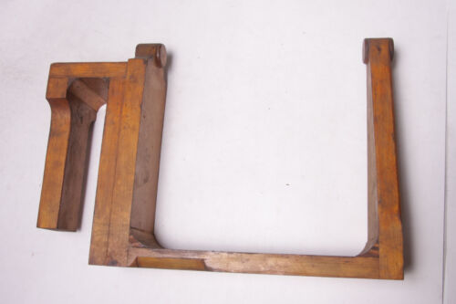 """Lamson Industrial Foundry Wood ~10.5 x 15.5"""" Mounting Bracket Mold Pattern M10"""
