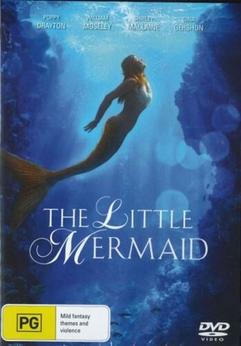 The Little Mermaid (2018) DVD Movie Hans Christian Anderson BRAND NEW RELEASE R4