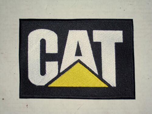 Large 5x7 CAT Caterpillar Embroidered Patch, sew on