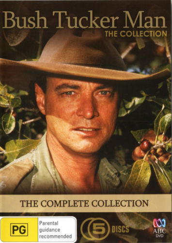 BUSH TUCKER MAN - The COMPLETE Collection DVD ABC TV SERIES 5-DISCS BRAND NEW R4