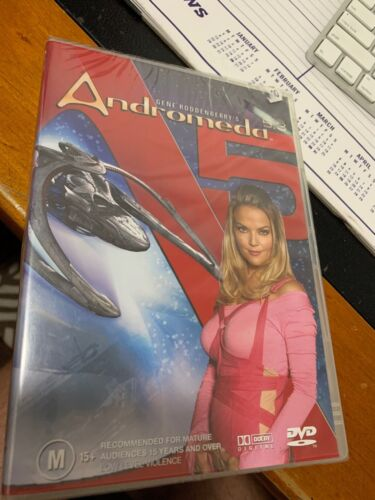 Andromeda : Vol 5 : Part 3 (DVD, 2005) R4 Brand New Sealed