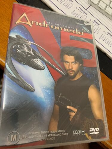 Andromeda : Vol 5 : Part 7 (DVD, 2005) R4 Brand New Sealed