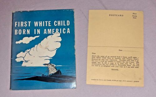First White Child Born In America, 1955, The Antiquarian