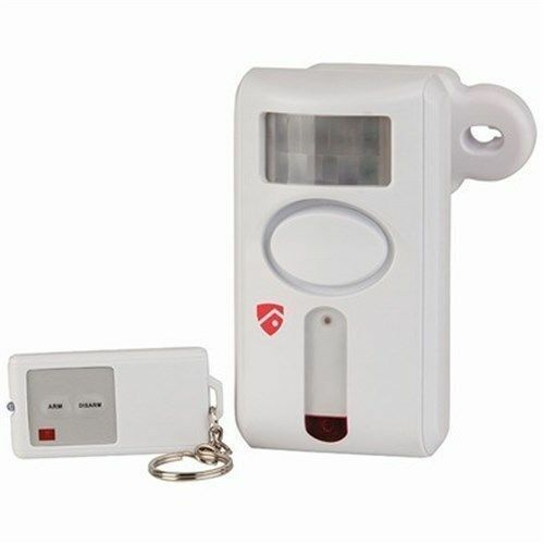 Motion Activated PIR Sensor Alarm with Remote Control Install mounting bracket
