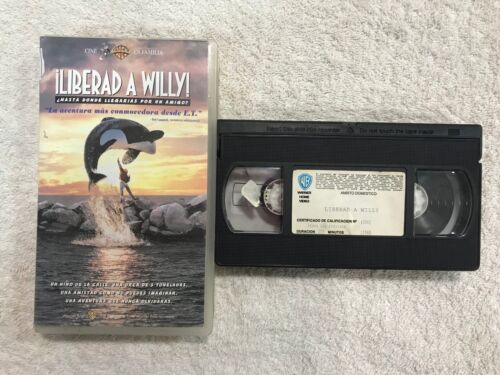 LIBERAD A WILLY VHS  1993