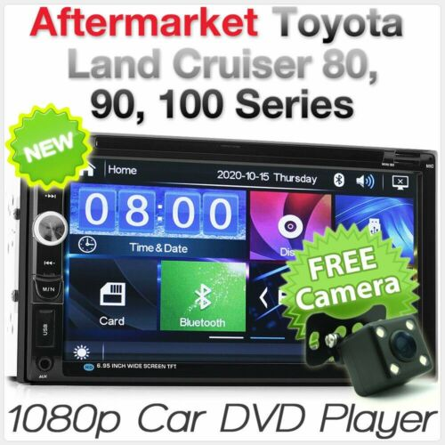 NEW Car DVD Player MP3 For Toyota Land Cruiser Prado 80 90 100 Radio Stereo MP4